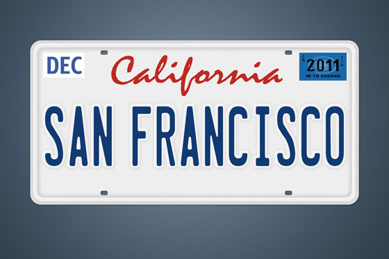 Keep photos of family license plates
